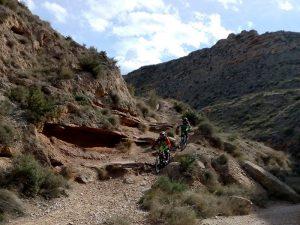 Barranco Nisupu - Ruta BTT Enduro Zaragoza