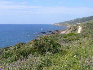 Ruta BTT Tarifa - Guadalmesi -Vistas de la Costa