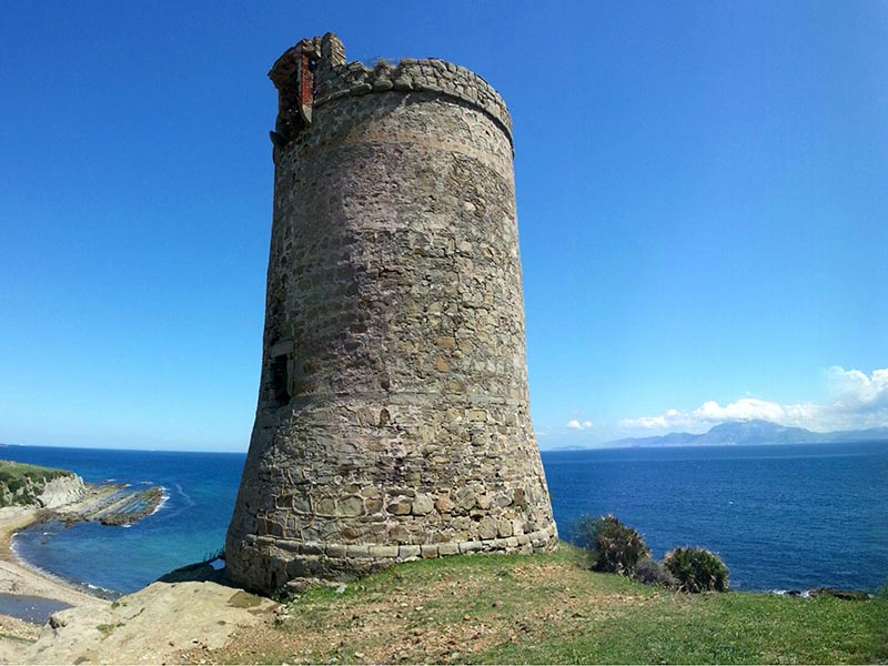 Ruta BTT Tarifa - Torre Guadalmesi y Estrecho