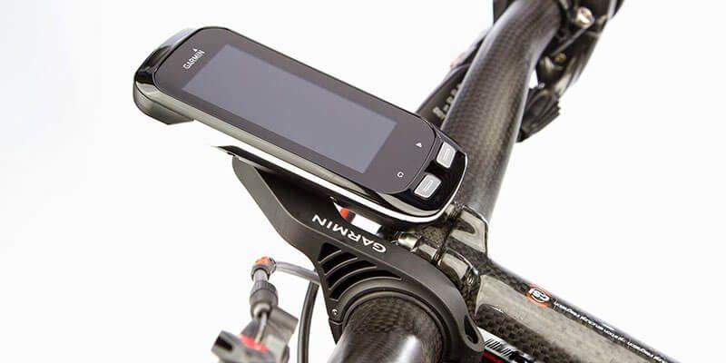 Gps para bicicleta Garmin Edge 1000 en el manillar