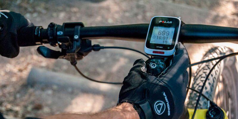 GPS Polar V650 en el manillar