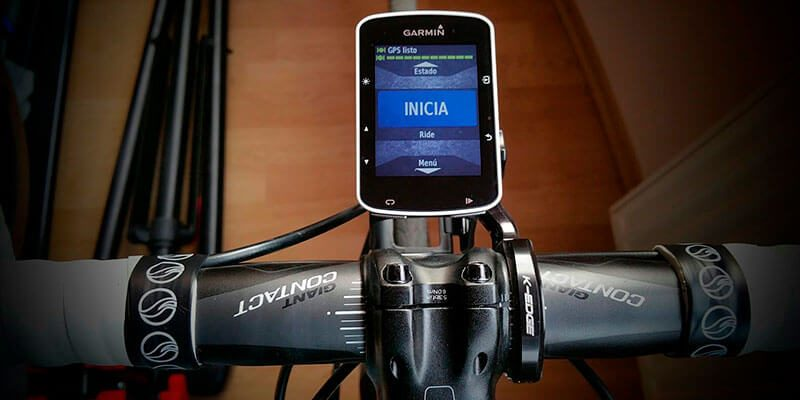 Gps para bicicleta Garmin Edge 520 en el manillar