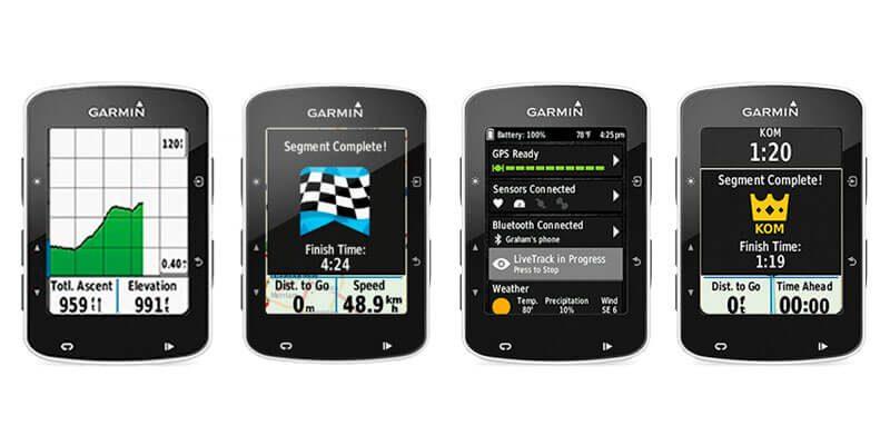 Pantalla Gps para bicicleta Garmin Edge 520