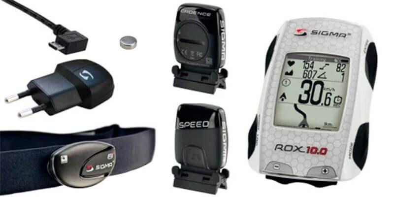 Sensores del Gps para bicicleta Sigma Rox 10.0