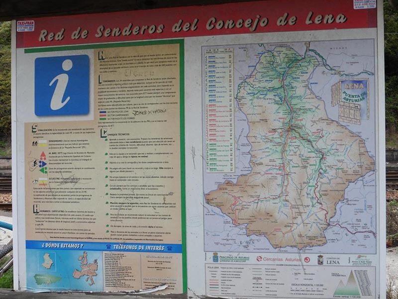 Cartel Informativo Etapa 3 Anillo Ciclista Asturias