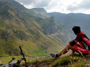 Ruta BTT desde Bielsa a Pico Liena