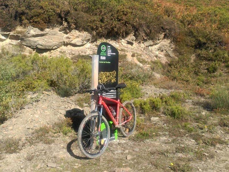 Señalización Etapa 3 Anillo Ciclista Montaña central