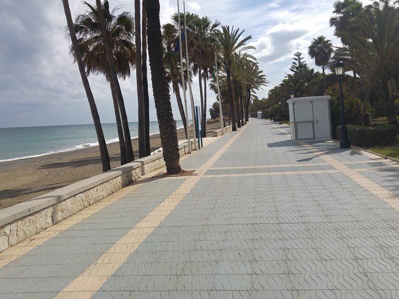PAseo Marítimo Marbella Puerto Banus
