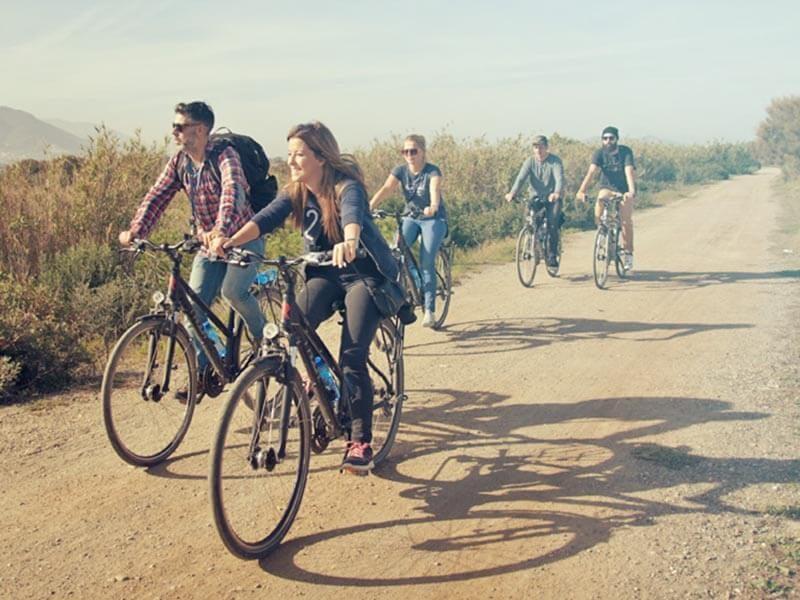 Pista de Tierra en bicicleta