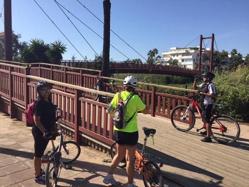 Puente en bici MArbella