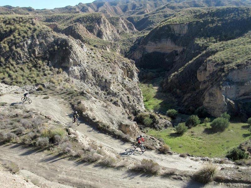 Desierto Gorafe - Hacia cañada de la Ventana