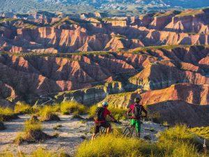 Desierto de Gorafe en bici Badlands