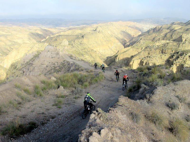 Desierto de Gorafe hacia la rambla de Anchurones
