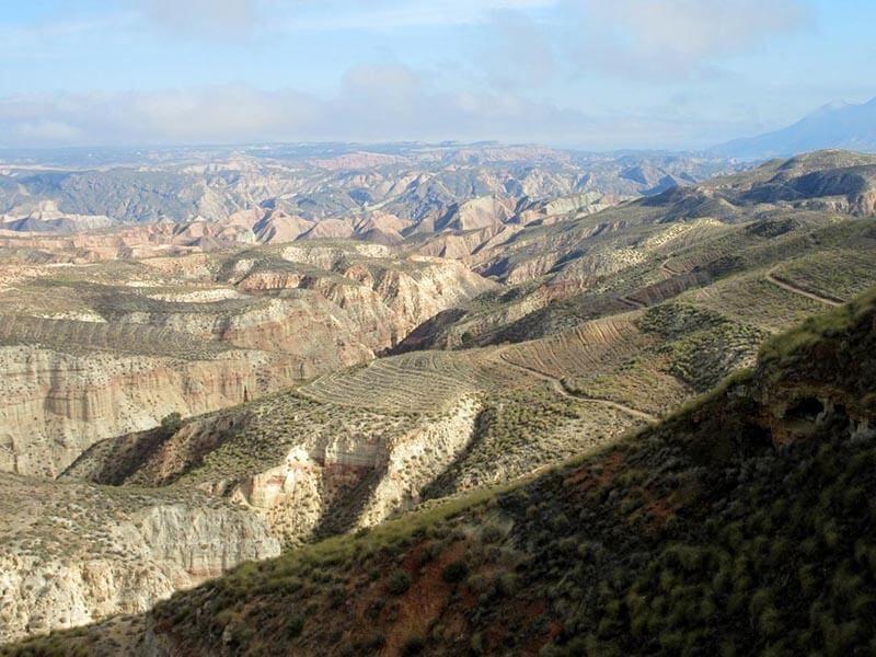 Desierto del lomo de la Minilla - Gorafe