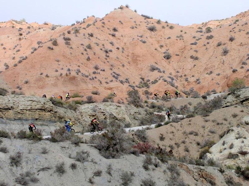 Subiendo hacia Tollo de Chiclana - Gorafe