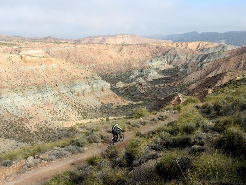 cresta desde Loma de los Pinos - Desierto de Gorafe