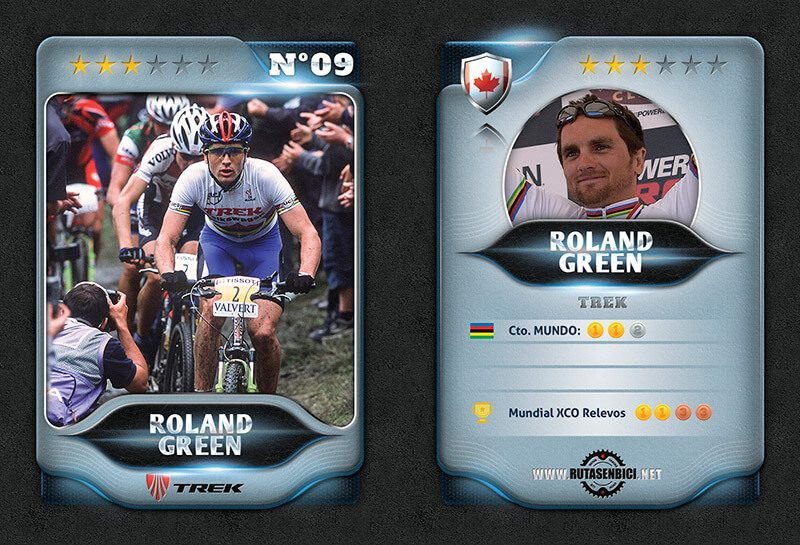 Roland Green Mejor ciclista Canadiense