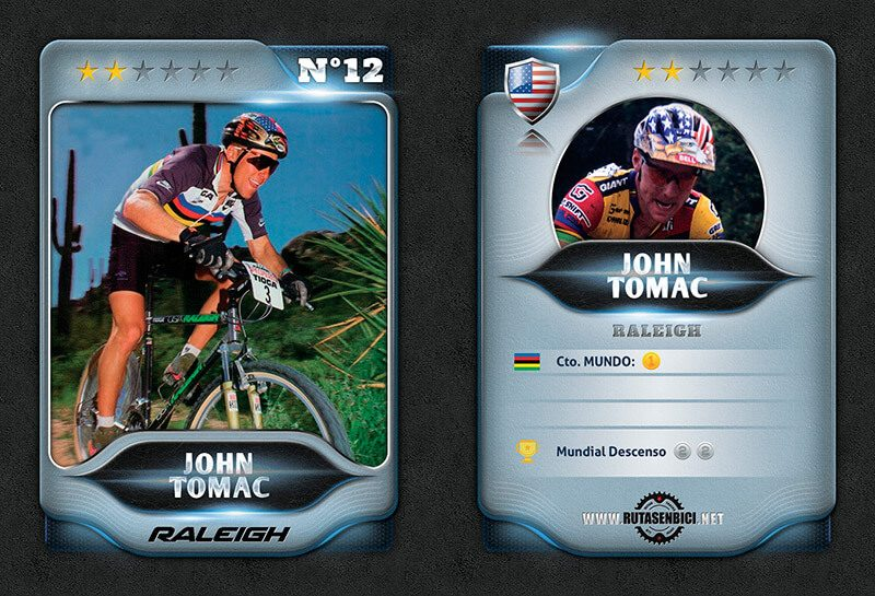 John Tomac mejor ciclista Mountain Bike USA