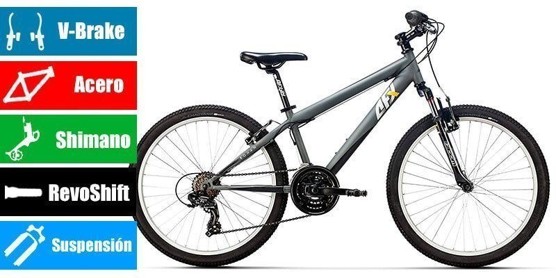AFX Bicicleta 24 para niño