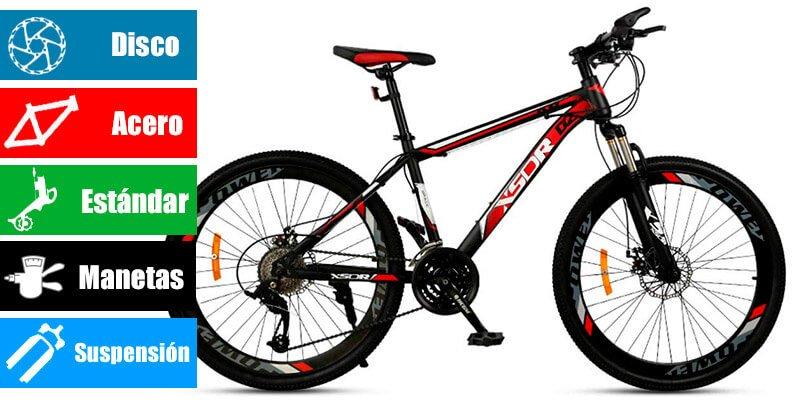 Bicicleta 24 pulgadas Chengke