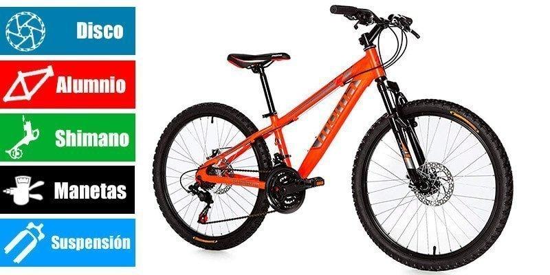 """MOMA Bicicleta de 24 """""""