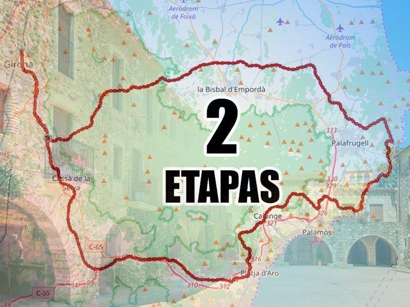 Ruta BTT Empordà Medieval