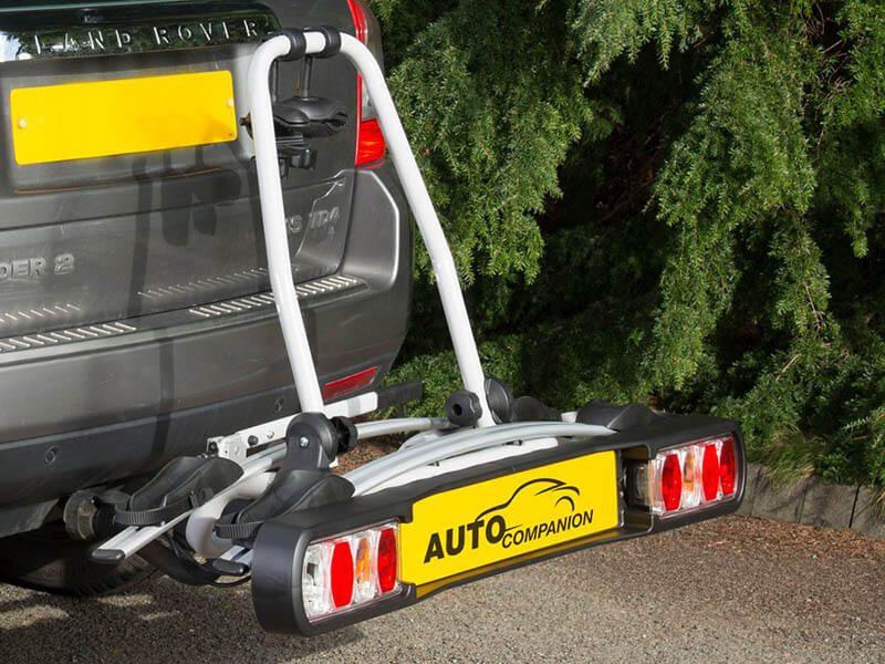 Auto Companion - Portabicis montado en el coche