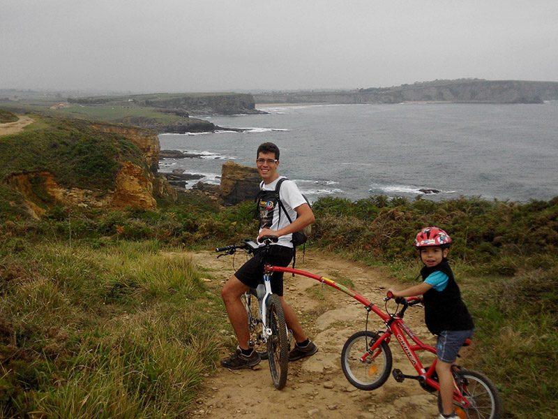Trailgator barra remolcar bici