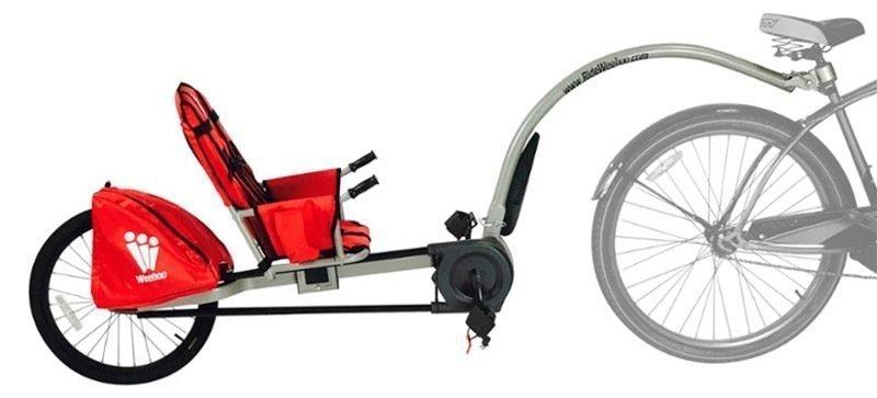 Weehoo remolcar niño en bici