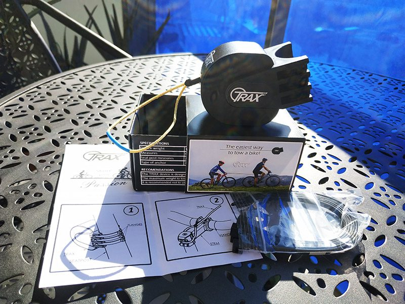 Trax MTB cable para remolcar