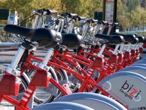Alquiler de bicis en Zaragoza