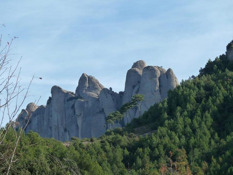 Pared Norte de Agujas desde Can Maçana