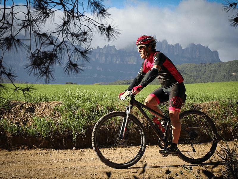 Corredor BTT Vuelta a Montserrat