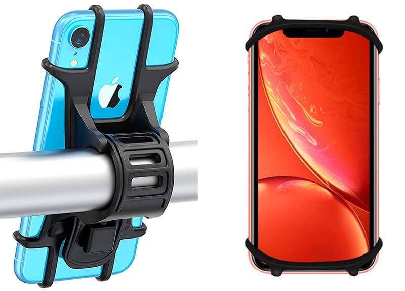soporte silicona movil bici bovon