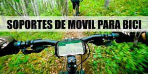 soportes de móvil para bicicleta