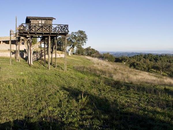 Atalaya de madera