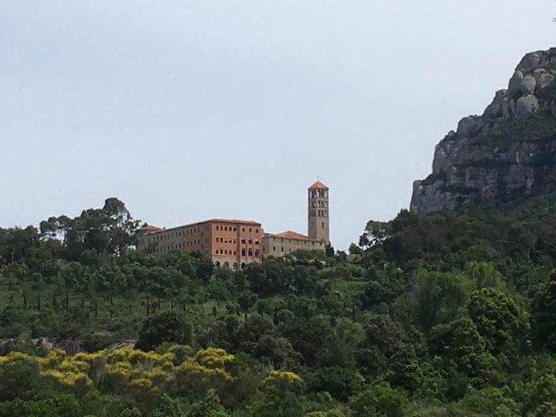 Montserrat desde Barcelona