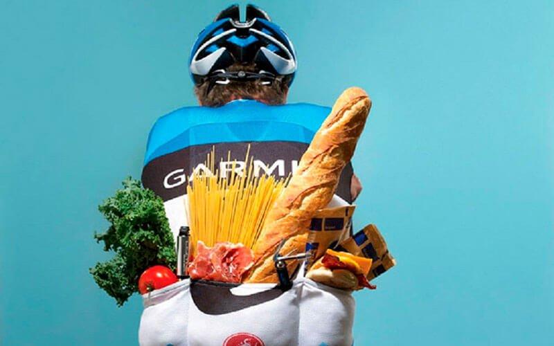 alimentación ciclismo
