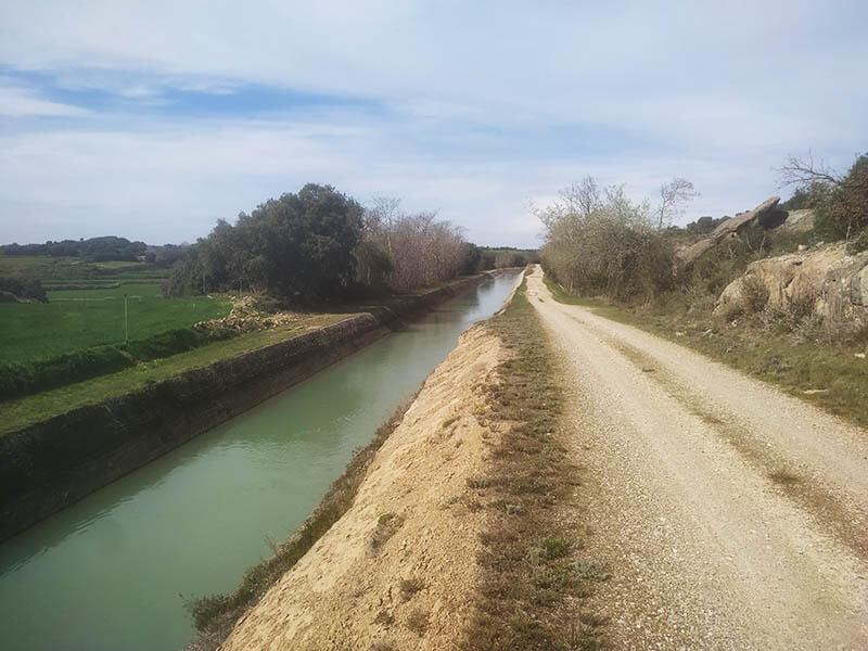 Canal de San Esteban a Monzón