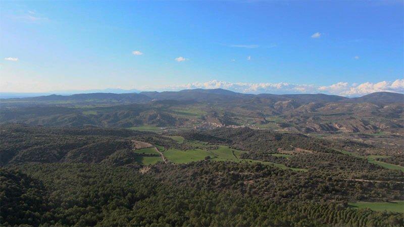 Vistas desde el Castillo de La Mora
