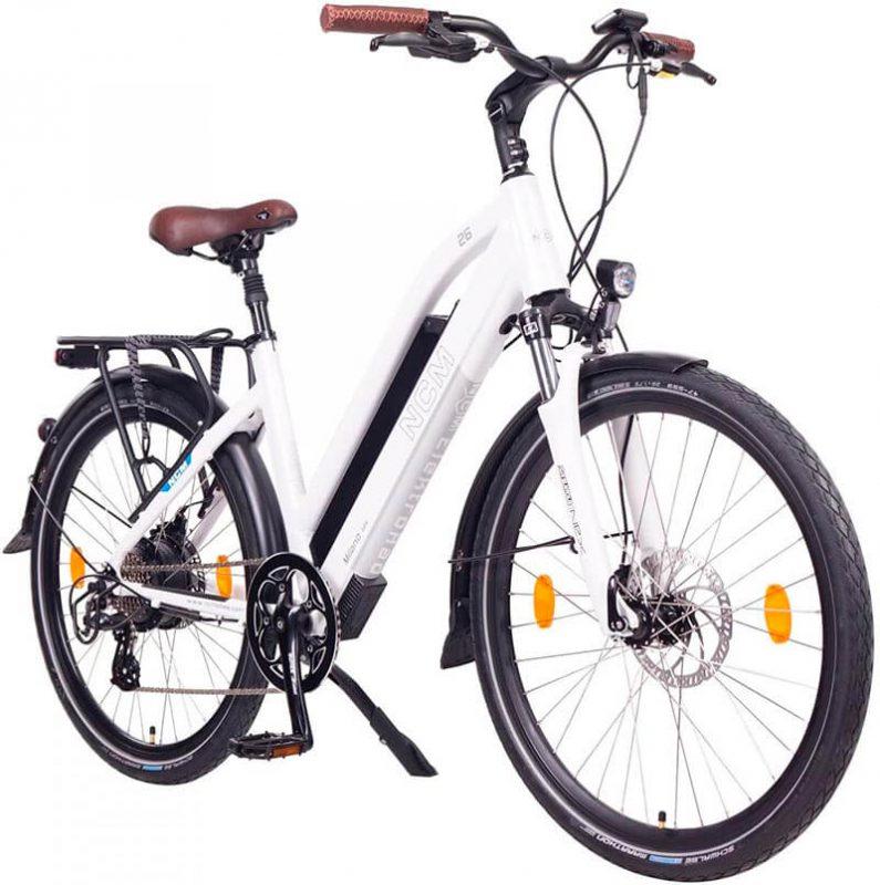 Bici electrica paseo NCM