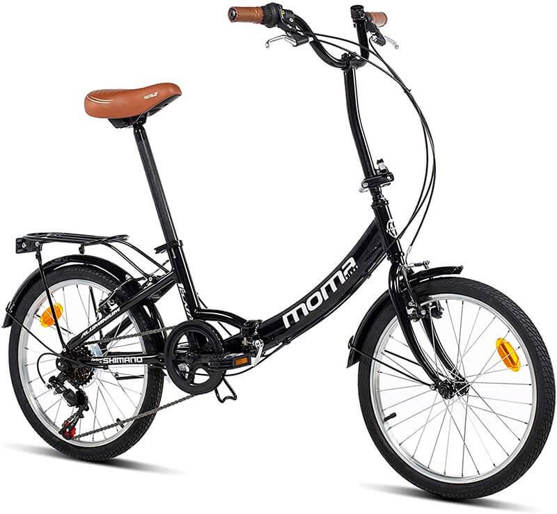 Bicicleta plegable ciudad moma