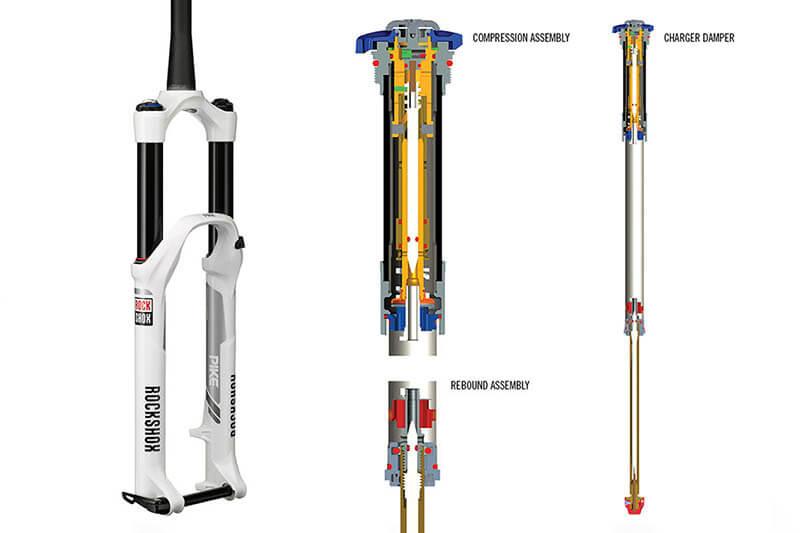 mantenimiento horquilla suspension