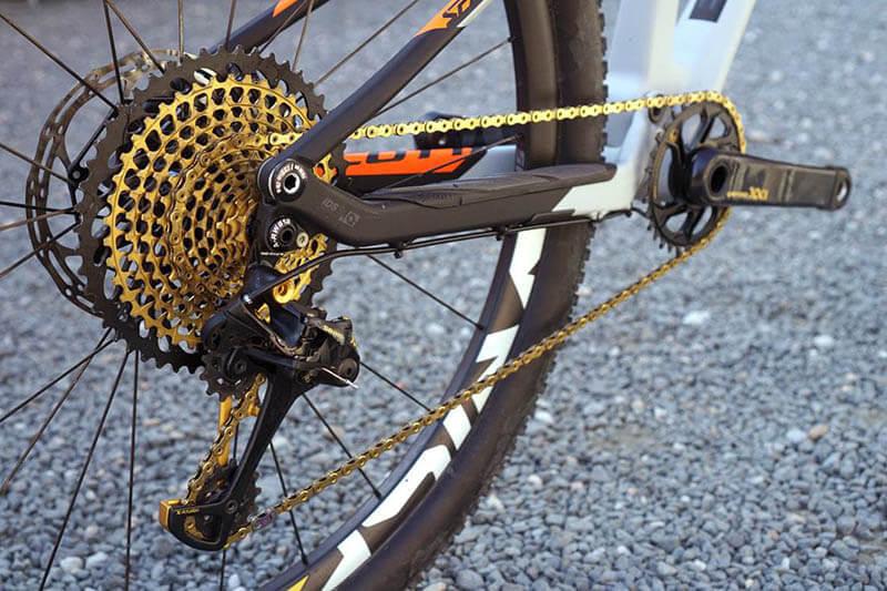 mantenimiento transmision bicicleta