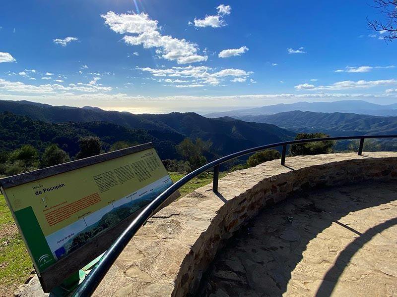 Ruta Bici Parque Ciencias Naturales Montes de Málaga