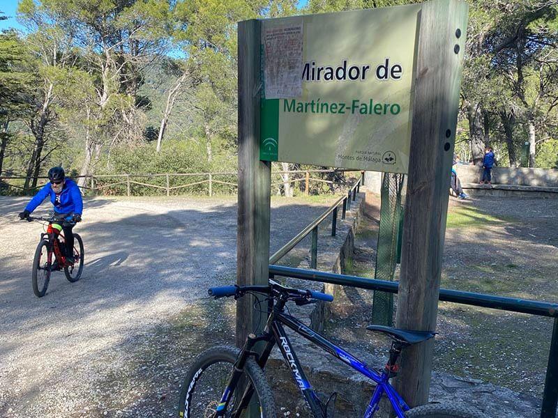 Ruta MTB Parque Ciencias Naturales Montes de Málaga