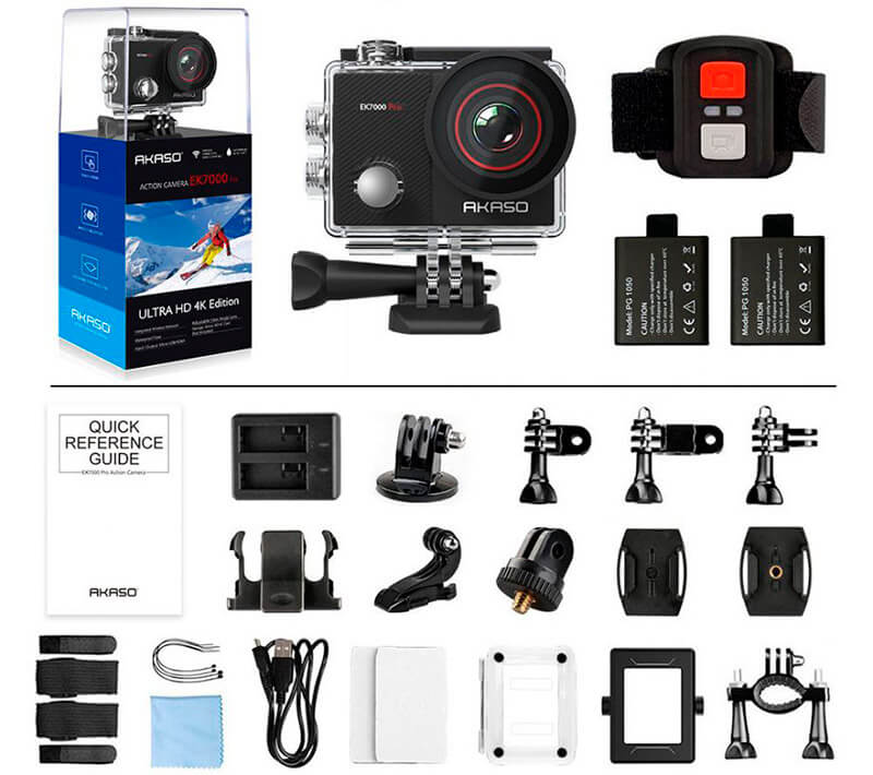 Cámara de vídeo para MTB Barata Acaso EK7000 Pro