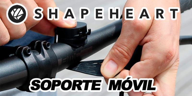 shapeheart soporte móvil bici magnético