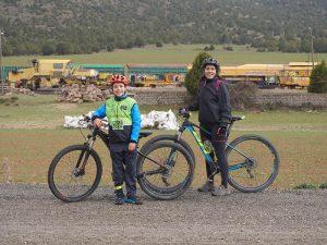 Vía Verde de Ojos negros en bicicleta por Teruel
